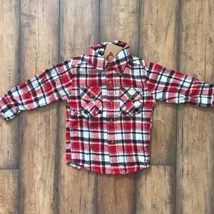 Appaman Red Plaid Flannel Shirt